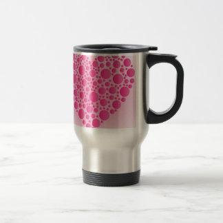 Caneca Térmica Cervo cor-de-rosa da bolha