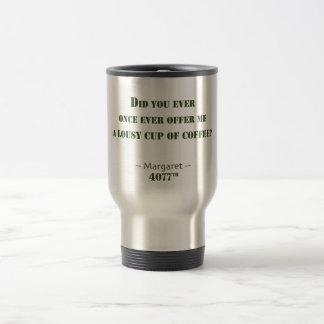 Caneca Térmica Chávena de café má