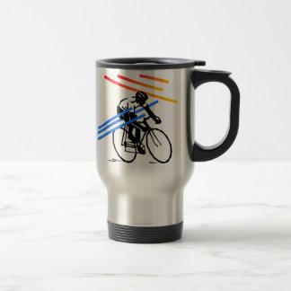 Caneca Térmica Ciclismo colorido da bicicleta
