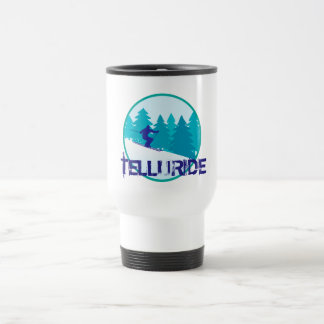 Caneca Térmica Círculo do esqui do Telluride