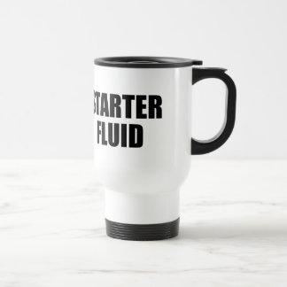 Caneca Térmica Citações fluidas do café do acionador de partida