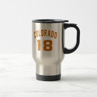 Caneca Térmica Colorado 18 designs do aniversário