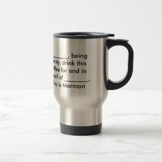 Caneca Térmica Copo de café de Exmormon