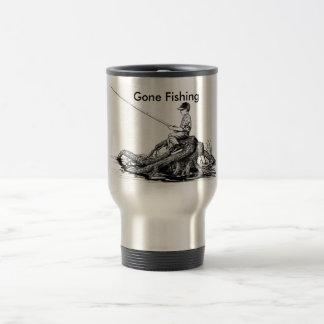 Caneca Térmica Copo de café de pesca ido