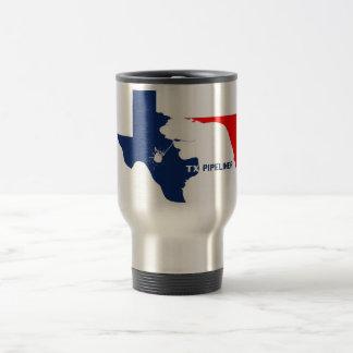 Caneca Térmica Copo de café de Texas Pipeliner