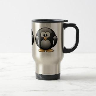 Caneca Térmica Copo de café do pinguim
