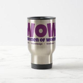 Caneca Térmica Copo de café do viagem do wow