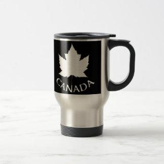 Caneca Térmica Copos da lembrança da folha de bordo de Canadá das