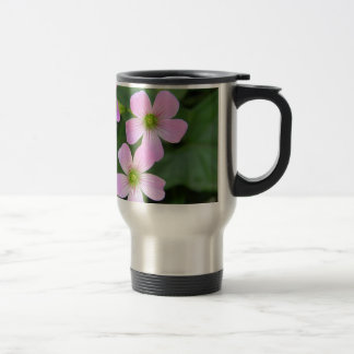 Caneca Térmica cor-de-rosa-flor
