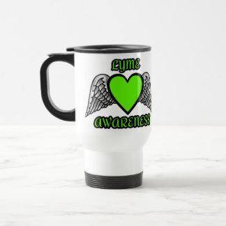 Caneca Térmica Coração/asas… Lyme