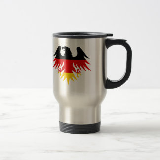 Caneca Térmica Crista de Eagle do alemão