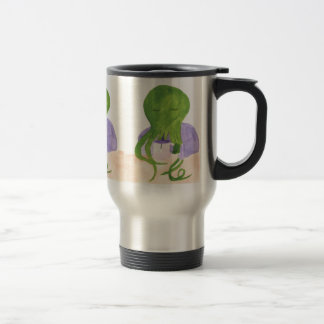 Caneca Térmica Cthulhu tem um copo do chá