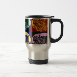 Caneca Térmica cup - city 3 point art perspective style pop