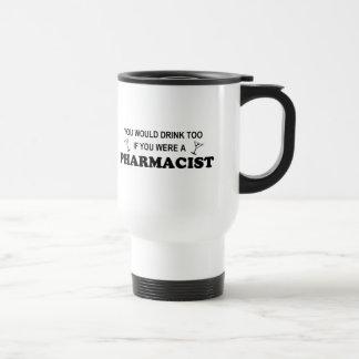 Caneca Térmica Da bebida farmacêutico demasiado -