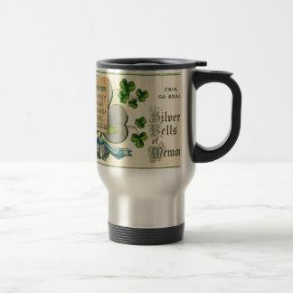 Caneca Térmica Desenhar irlandês do vintage original do Dia de
