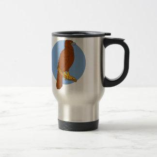 Caneca Térmica Desenho Cunha-atado australiano da vara de Eagle
