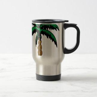 Caneca Térmica Desenho da palmeira