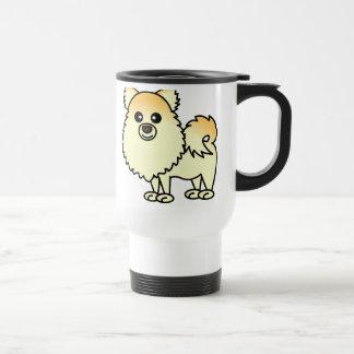 Caneca Térmica Desenhos animados bonitos de Pomeranian