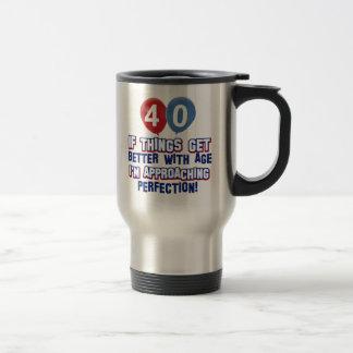 Caneca Térmica Design do aniversário de 40 anos