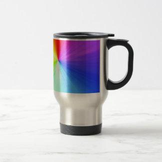 Caneca Térmica Design do espectro do arco-íris