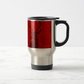 Caneca Térmica Design do veado vermelho