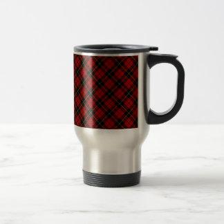 Caneca Térmica Design escocês do Tartan do clã de Wallace