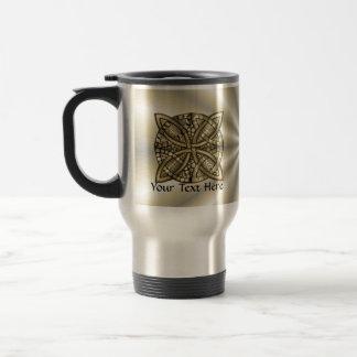 Caneca Térmica Design original do nó celta do ouro