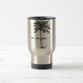 Caneca Térmica Design preto e branco de West Palm Beach & de