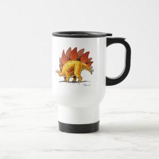 Caneca Térmica Dinossauro dos desenhos animados do Stegosaurus da