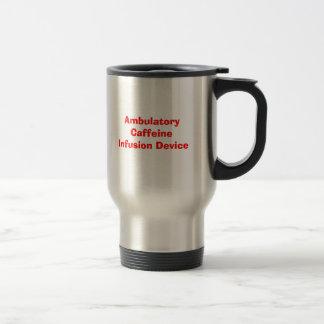 Caneca Térmica Dispositivo ambulatório da infusão da cafeína