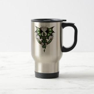 Caneca Térmica dragão celta
