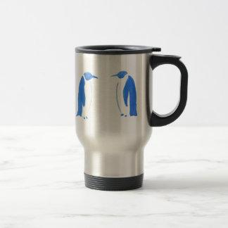 Caneca Térmica Duo azul do pinguim