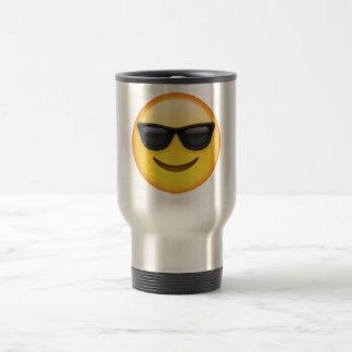 Caneca Térmica Emoji - óculos de sol