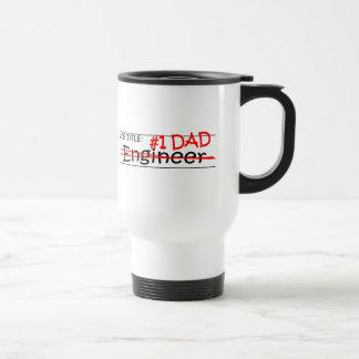 Caneca Térmica Engenheiro do pai do trabalho