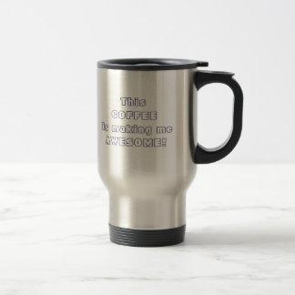 Caneca Térmica Este café se fazendo me citações impressionantes