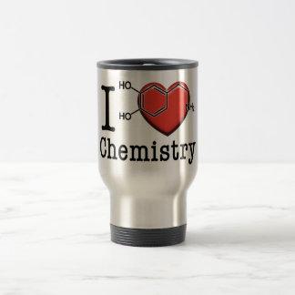 Caneca Térmica Eu amo a química