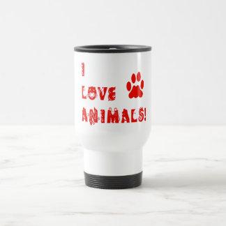 Caneca Térmica Eu amo animais