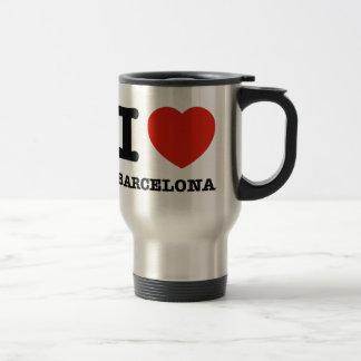 Caneca Térmica Eu amo Barcelona