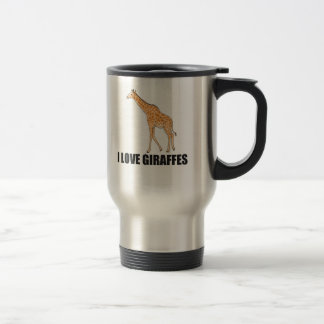 Caneca Térmica Eu amo girafas