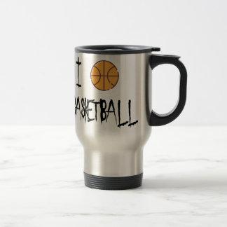 Caneca Térmica Eu amo o basquetebol