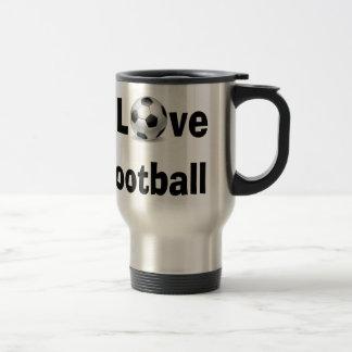Caneca Térmica Eu amo o futebol