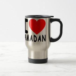 Caneca Térmica Eu amo Ramadan.