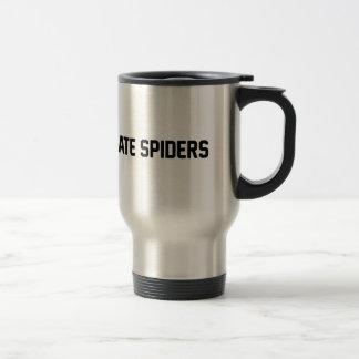 Caneca Térmica Eu deio aranhas