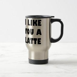 Caneca Térmica Eu gosto de você um Latte