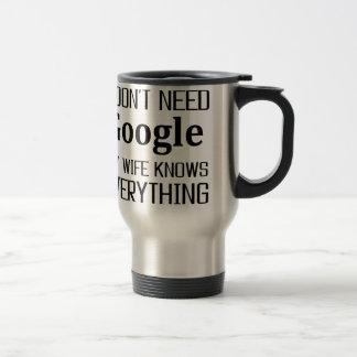 Caneca Térmica Eu não preciso Google