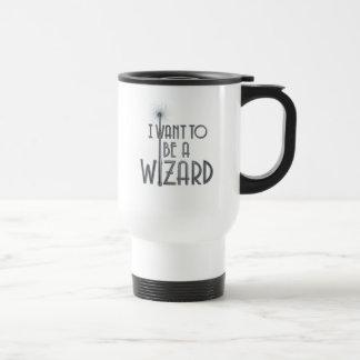 Caneca Térmica Eu quero ser um feiticeiro