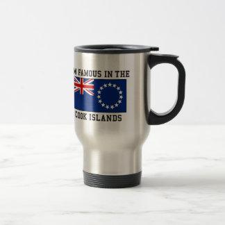 Caneca Térmica Eu sou famoso nas Ilhas Cook