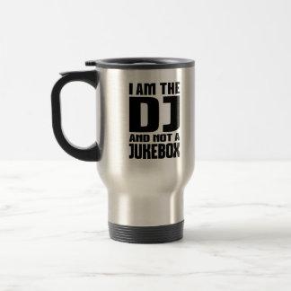 Caneca Térmica Eu sou o DJ não um jukebox