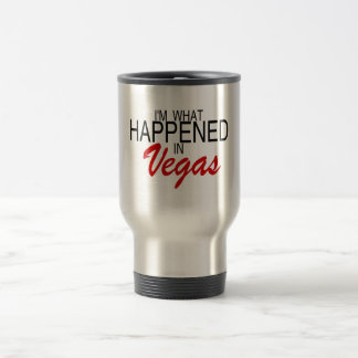 Caneca Térmica Eu sou o que aconteceu em Vegas