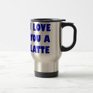 Caneca Térmica Eu te amo um Latte